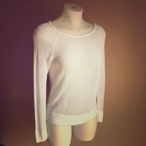 525 America Open Weave Cover Up Sweater